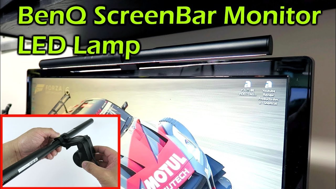 Computer Screenbar Led Lamp Benq Monitor SzpUMV
