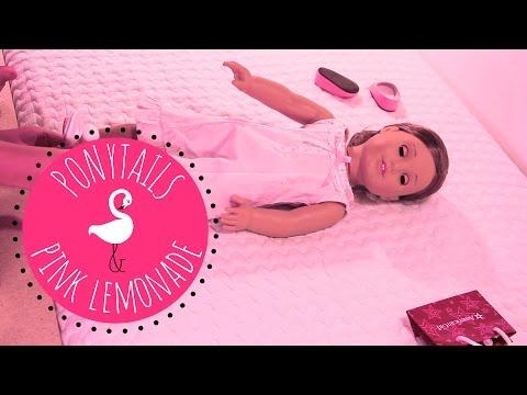 American Girl Doll Rebecca In Samantha Nightgown