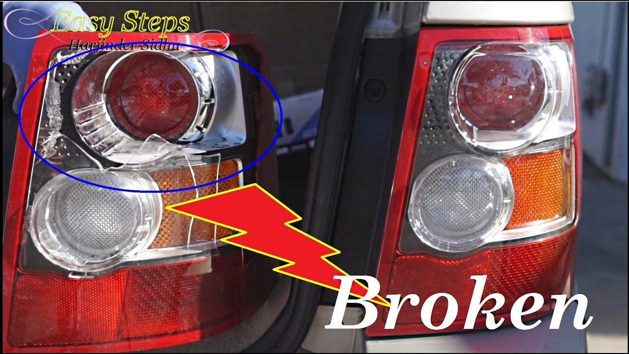 small resolution of how to change broken tail lights tail lights assembly on range range rover tail light diagram