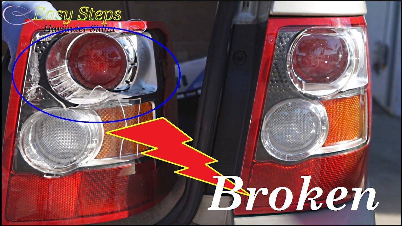 medium resolution of how to change broken tail lights tail lights assembly on range how to change broken tail