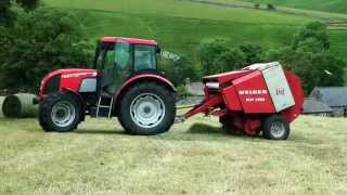 Baling in Swaledale - Fell Silage!