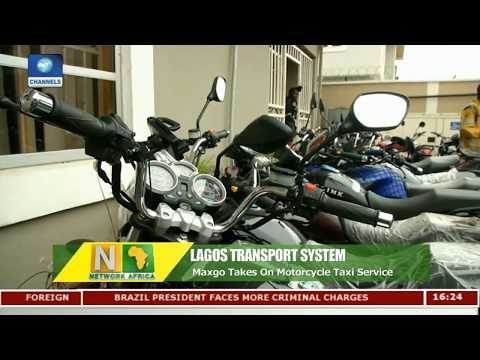 Maxgo Provides Motorcycle Transport Service In Lagos |Network Africa|