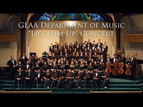 """Lift Him Up Concert"" Great Lakes Adventist Academy Department of Music"