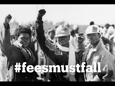 South Africa's #feesmustfall protests explained