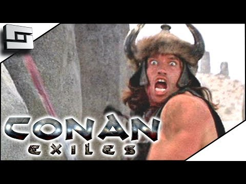 Conan Exiles Gameplay - A Fresh Start w/ xBCrafted