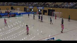 2018IH  ハンドボール女子 準々決勝 明光学園(福岡県)vs 対 群馬富岡(群馬県)