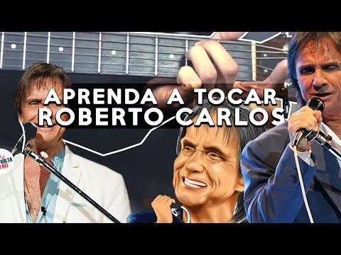 MÚSICA DO ROBERTO CARLOS COM 4 ACORDES FÁCEIS NO VIOLÃO