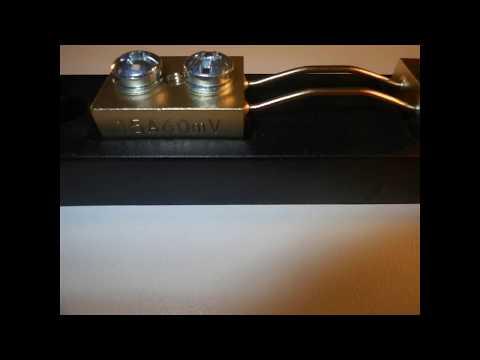 Shunt 15A 60mV DIN 43703 Classe 0,5   RU DA ITALY