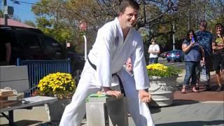 Mike Mullin Taekwondo Demo