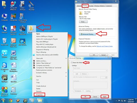 How To Remove Sharing Of Folder And Drive In Windows 7, 8 & 8.1