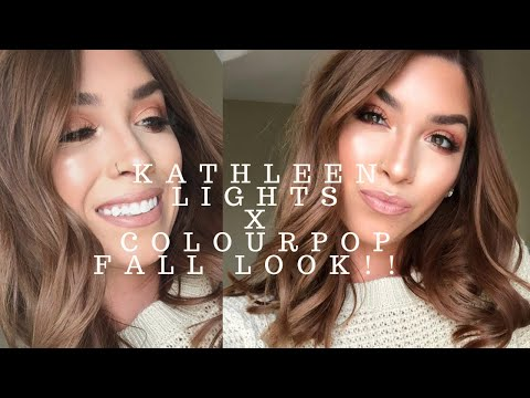 The perfect fall makeup (using my So Jaded palette) Kathleen lights x colourpop thumbnail