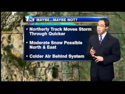 Mark Ronchetti KRQE Weather Forecast 1-5-12