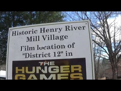 DISTRICT 12!/HENRY RIVER MILL VILLAGE!(The Hunger Games Filming Location)
