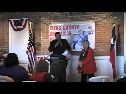 Titus GOP County Convention 2016 Part 1
