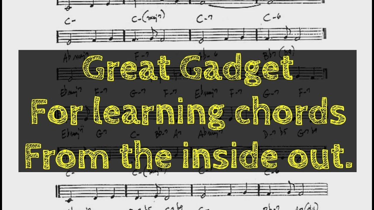 Great gadget for learning chords from the inside out youtube great gadget for learning chords from the inside out hexwebz Images
