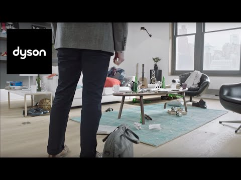 Need to clean up in a hurry? The Dyson V6 cordless vacuums are on hand - Official Dyson Video
