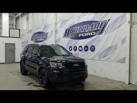 2019 Ford Explorer Sport W/ 3.5L EcoBoost, Leather Overview | Boundary Ford
