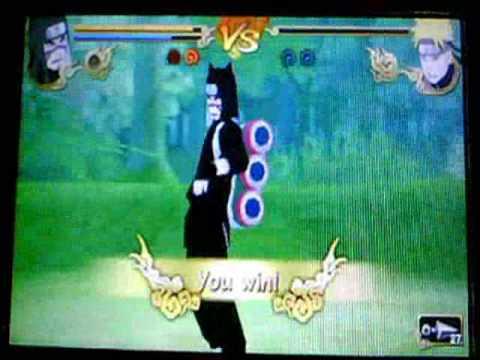 Naruto Shippuden Legends Akatsuki Rising Kankuro vs Naruto ...