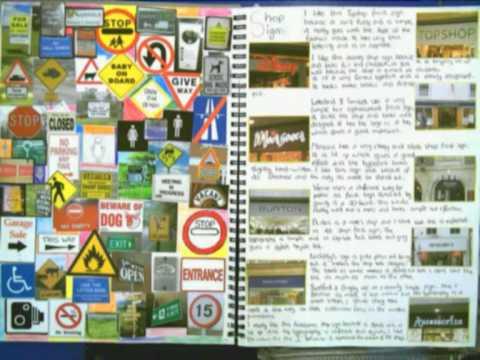 Pop Art Gcse Sketchbook