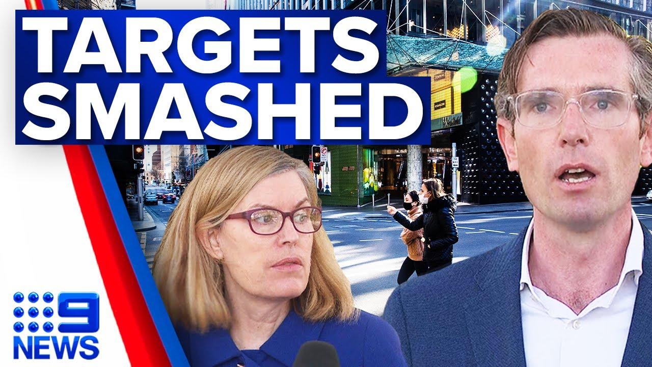 NSW above 90 per cent first COVID-19 vaccine dose | Coronavirus | 9 News Australia