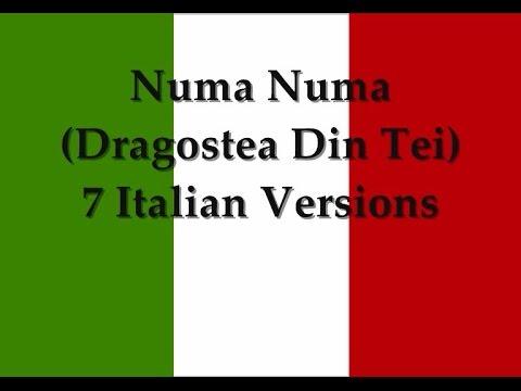 Numa Numa All 7 Italian Versions