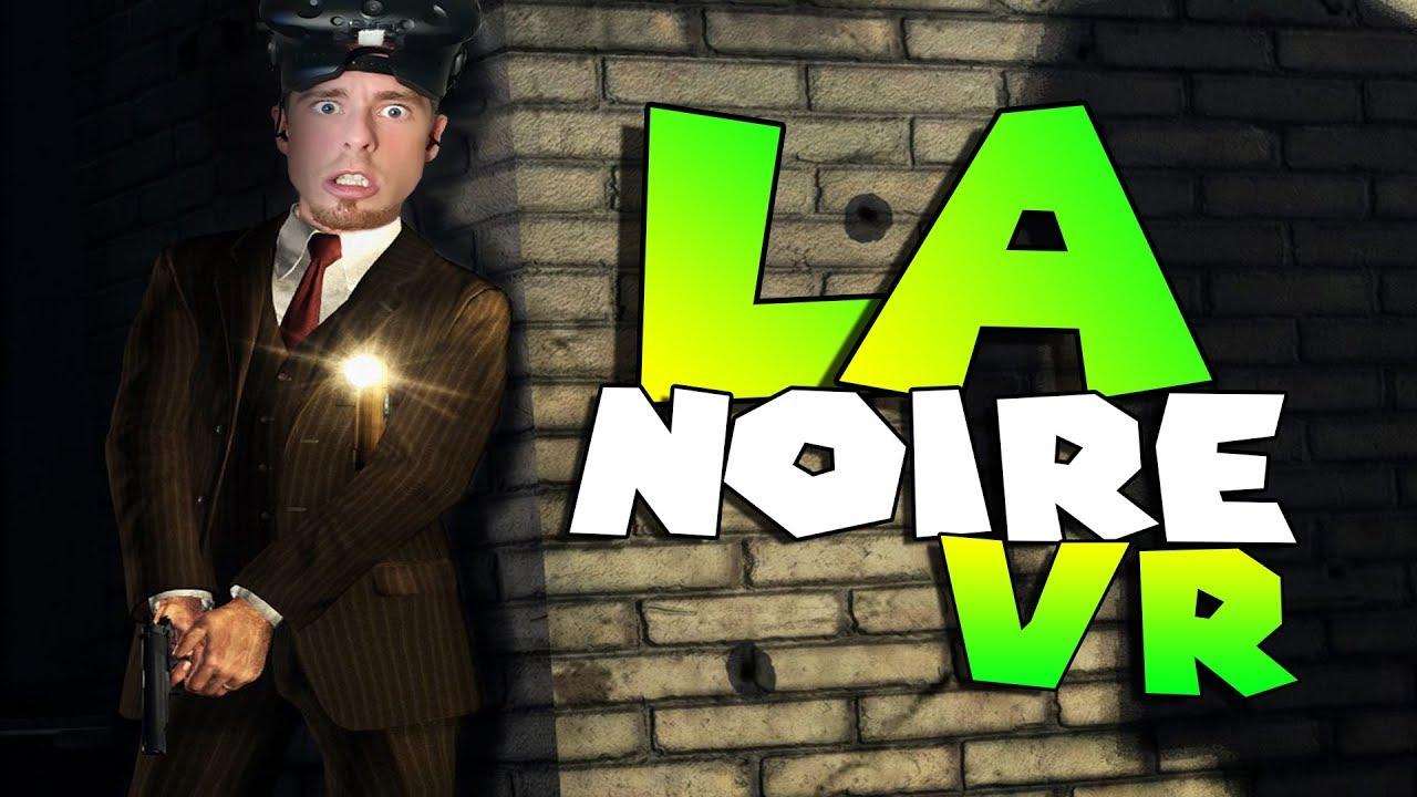 'LA Noire: The VR Case Files' is available now for HTC Vive