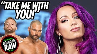 Sasha Tweets To Revival: TAKE ME WITH YOU! Details On Revival's WWE Demands! Going In Raw Podcast