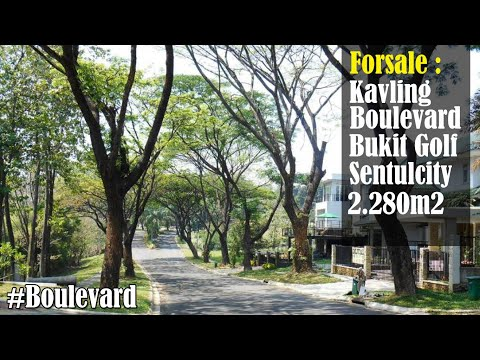 kavling-best-view-mountain-cluster-elite-boulevard-bukit-golf-hijau-sentulcity