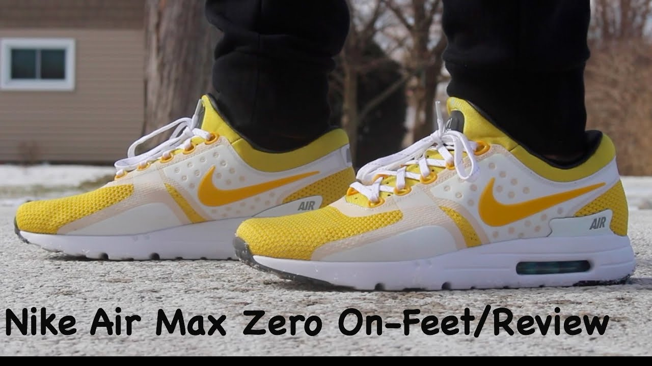 Nike Air Max Zero Review