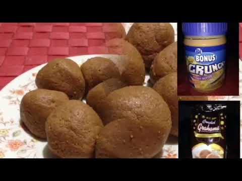 PEANUT BUTTER AND GRAHAM BALLS