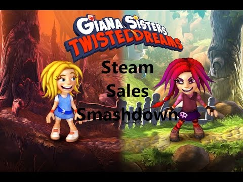 Steam Sales Smashdown: Giana Sisters Twisted Dreams |
