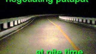 patapat road at nite.@balloncam.com/ballesteros