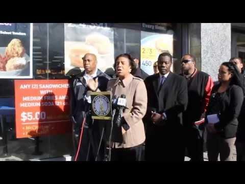 Council Member Cumbo Joins Brooklyn BP Adams, Community Leaders To Denounce Teen Brawl at McDonald's