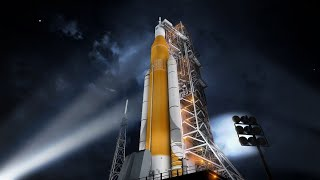 🔴 EN DIRECT ALLUMAGE DE LA FUSÉE LUNAIRE DE LA NASA: SLS (Space Launch System - Test statique)