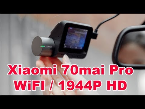 Xiaomi Mi 70mai Dash Cam Pro New Top Wifi Car Dvr 1994p Voice Control Review And Test