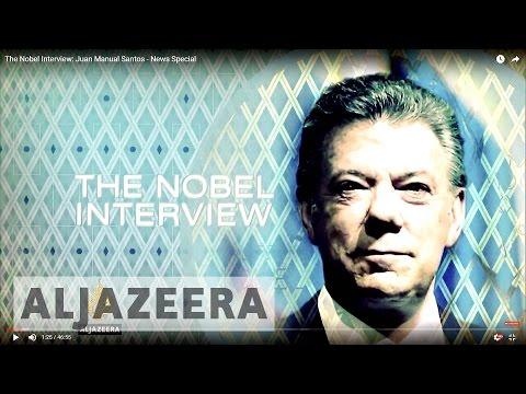 The Nobel Interview: Juan Manual Santos - News Special