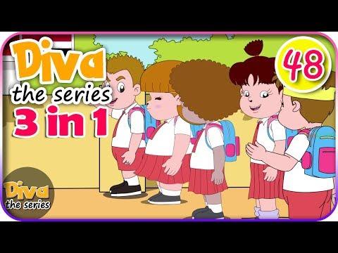 Seri Diva 3 in 1 | Kompilasi 3 Episode ~ Bagian 48 | Diva The Series Official