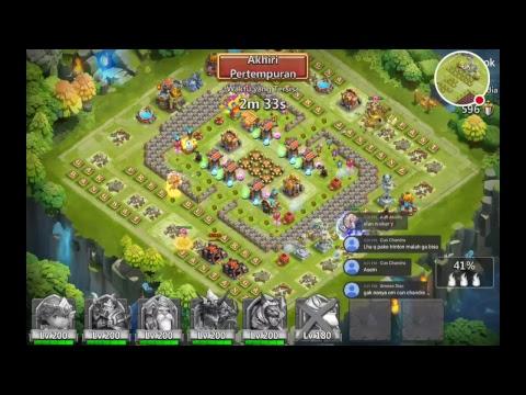 Guild War Triton Action Live Castle Clash 16/4/17