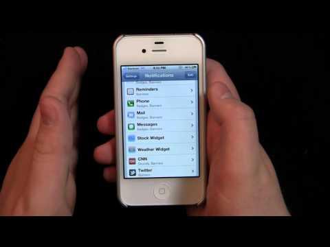 iOS 5 Walkthrough