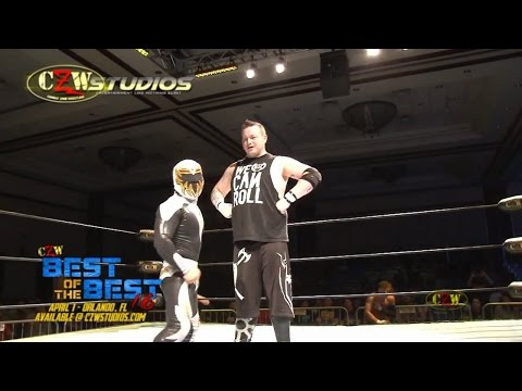 #BOTB16: Mascarita Dorada and Rickey Shane Page square off! (CZWstudios.com)