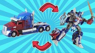Hasbro Transformers 5 - Optimus Prime The Last Knight (voyajer class)