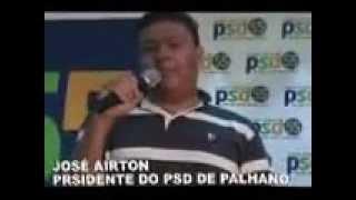 PSD PALHANO   JOSÉ AIRTO PRESIDENTE DO PSD DE PALHANO