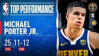 MPJ Records CAREER-HIGH 25 PTS On 11-12 FGM