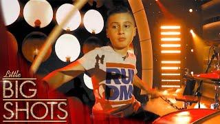 Meet 11 Year Old Drumming Sensation Marcus   Little Big Shots