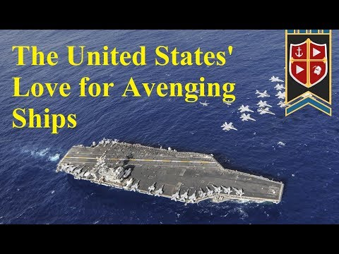 The United States' Love For Avenging Ships