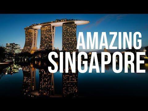Amazing Singapore 2016 - 4K Timelapse