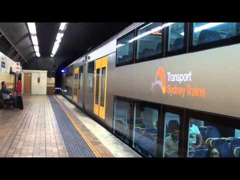 Trains at Wynyard - Sydney Trains