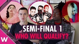 Eurovision 2019 Semi-Final 1 qualifiers prediction
