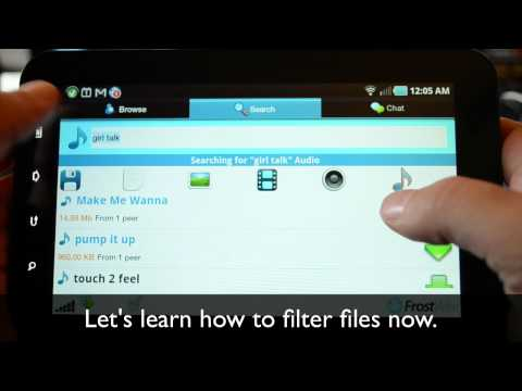 FrostWire For Android - How To Search, Browse, Filter And Download