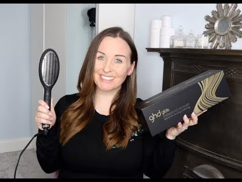 GHD Glide Hot Brush 'Not Sponsored' Review-  The Good And The Bad